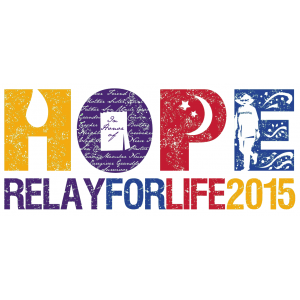 Proud Sponsor of The Relay For Life 2015